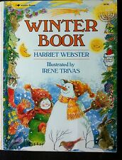 Winter Book by Harriet Webster c1988, VGC Paperback, We Combine Shipping