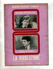 CENTO GIORNI-LA RIVOLUZIONE#Spartito Supersonic#Gianni Pettenati-C.Caselli-Mogol