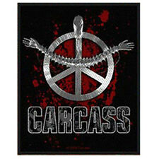 CARCASS Heartwork Official Sew On WOVEN PATCH Death Metal NEW