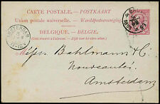 Belgium 1895, 10c Stationery Card #C20646