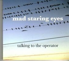 (DF894) Mad Staring Eyes, Talking to the Operator - sealed DJ CD