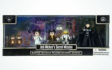 Disney Parks Star Wars JEDI MICKEY'S SECRET MISSION Figures Set - NEW & SEALED