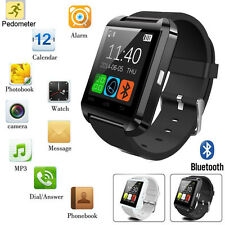 Black U8 Bluetooth Smart Wrist Watch Phone Mate For Android&IOS LG Sony