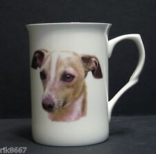 Italian Greyhound  Dog (Head BF) Fine Bone China Mug Cup Beaker