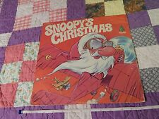"Snoopy's Christmas (12'' LP VINYL) Diplomat Records (FREE SHIP.) ""Mr. Reindeer"""