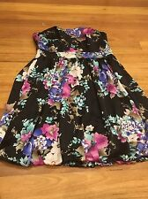 Impulse Floral dress size 12 formal party very elegant Worn Once