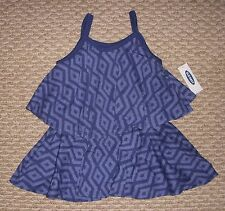 NEW! OLD NAVY Baby Toddler Girls' 12-18 Months Dress Geometric Spaghetti Strap