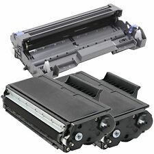1 x DR520 Drum + 2 x TN580 Toner for Brother HL-5240 HL-5250 HL-5270DN HL-5280
