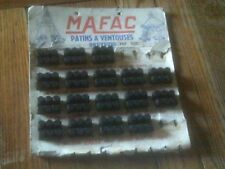 1 PAIR OF NOS MAFAC 3 DOT 35mm BRAKE BLOCKS