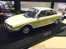 NSU AUTO UNION AUDI ro80 RO 80 Wankel BERLINA 1972 Giallo Yellow Minichamps 1:18