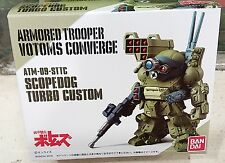 Bandai Armored Trooper Votoms Converge ATM-09-STTC Scopedog Turbo Custom