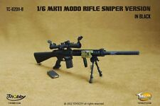 In stock TOYSCITY 1/6 TC-62011-B  MK11 MOD0 rifle For 12'' Action Figure Black