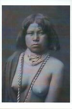 Nude Mojave Indian Woman, Arizona & Nevada --- Native American History Postcard