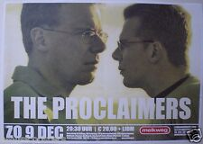 THE PROCLAIMERS 2007 AMSTERDAM, NETHERLANDS CONCERT POSTER - Scotland Rocks!