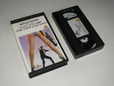 VHS Video ~ James Bond 007 For Your Eyes Only ~ Digitally Remastered ~ MGM/UA