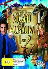 Night At The Museum 1 and 2 [ DVD ] Region 4, Fast Next Day  Post...7868