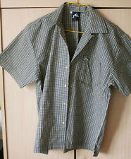 "Mens ""R"" Yellow Checks Shirt"