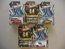 5X Hot Wheels 2011-2012 CARS OF THE DECADES Series - The 30's -  Lot of 5