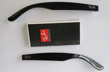 ASTE RICAMBIO RAY BAN 5184 BLACK NEW WAYFARER NERO LUCIDO SIDE ARMS REPLACEMENT