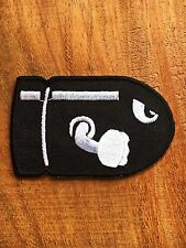 Bullet Comic Cute Iron On Embroidery Patch New