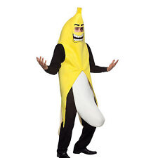New Banana Costume Men Cosplay Adult Funny Halloween Christmas Party Fancy Dress