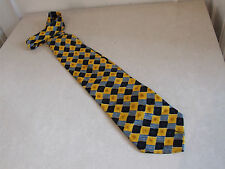 Splendid Vintage Cecil Gee 100% Fine Silk Men's Multi-Colour Neck Tie FREE Post