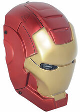 New Handmade Red Airsoft Paintball Wire Mesh Full Face Protection Iron Man Mask