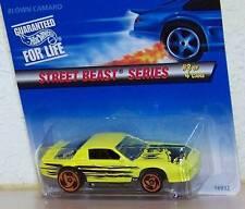 1996 Hot Wheels Blown Camaro Chevrolet Die-Cast Bottom Dated 1983 Clear Glass