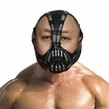 "Batman Dark Knight Cosplay Bane Mask Halloween Party cosplay Costume ""One Size"""