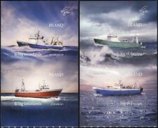 Iceland 2014 Trawlers/Ships/Boats/Nautical/Fishing/Transport 4v s/a set (is1025)