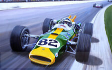 Jim Clark, Lotus 48, Colin Chapman, Indy 500 Victory, Limited edition print
