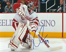 Autographed TY CONKLIN Detroit Red Wings 8x10 photo - COA