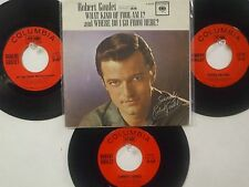 LOT OF 4 ' ROBERT GOULET ' HIT 45's+1PS            THE 60's!