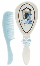 Stephan Baby Grooming Boy Blue Dog Brush and Comb Gift Set 625813