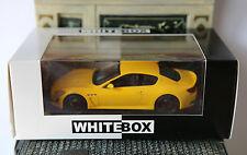 MASERATI GRANTURISMO MC STRADALE YELLOW WHITEBOX WBS029 1/43 GELB JAUNE