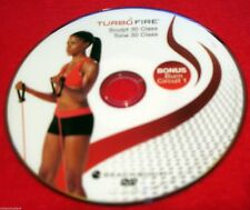 TURBO FIRE - SCULPT 30 CLASS + TONE 30 CLASS - DVD - BRAND NEW