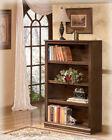Ashley Furniture Medium Bookcase Hamlyn Medium Brown H527-16 Bookcase NEW