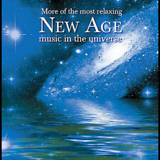 More of the Most Relaxing New Age Music in the Universe CD 2 Discs 2005 NEW