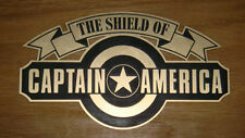 CAPTAIN AMERICA TFA SHIELD DISPLAY PLACARD PLATE STYLE B