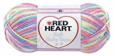 Red Heart E746.9937 Soft Baby Steps Yarn, Giggle New