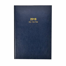 Arpan 2018 A5 Day To A Page  Early Edition Diary - Blue