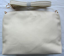Kris Ana Ivory Textured Leather Look Hand Across Body Shoulder Bag BNWIT