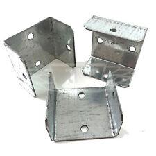 "PACK OF 40 - 40mm (1.60"") FENCE & TRELLIS CLIPS BRACKET PANEL FIXING GARDEN POST"