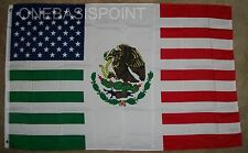 3'x5' USA Mexico Friendship Flag United States America Mexican Banner New 3X5