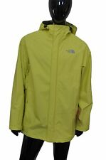 THE NORTH FACE Men's Farlek HyVent Jacket Energy Yellow Waterproof Size Large L