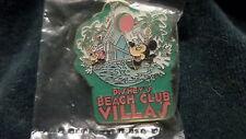 Disney Vacation Club DVC MICKEY & MINNIE With BEACH BALL CLUB VILLAS Resort Pin