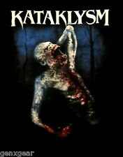 KATAKLYSM cd lgo LIKE ANIMALS Official SHIRT LRG OOP waiting for the end to come