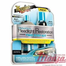 NEW!! 2016 Meguiars Car / Motorbike **HEAVY DUTY** Plastic Headlight Restore Kit