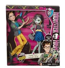 Bnib Monster High Picnic Casket Jackson Jekyll Frankie Stein 2 Pack Doll Dolls