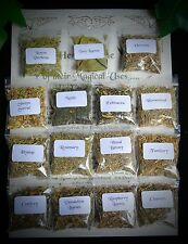 NEW 15 HERB Witches Starter Set Spell Ingredients Wicca Pagan Witchcraft